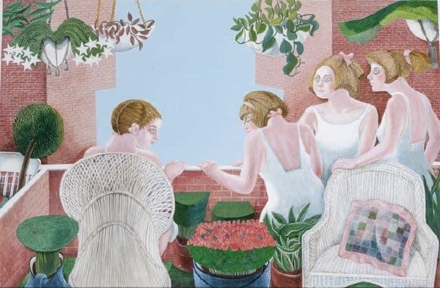 June Selznick Drutz - Four Maidens Watching