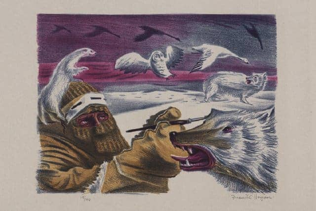 Fred Hagan - Examining Snow Creatures